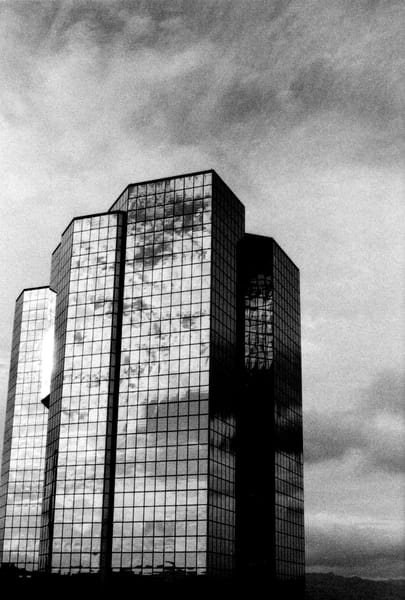 Shiny Office Tower, Sherman Oaks Photography Art | Peter Welch
