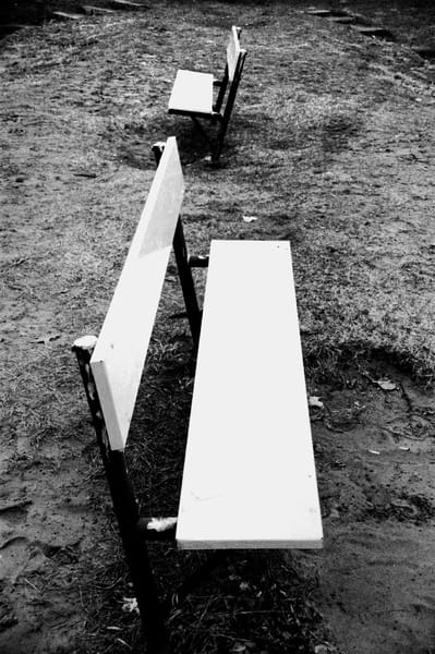 Tennis Benches Photography Art | Peter Welch