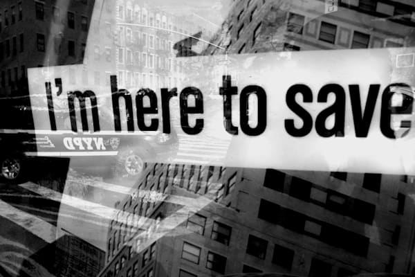 I'm Here To Save Photography Art by Peter Welch