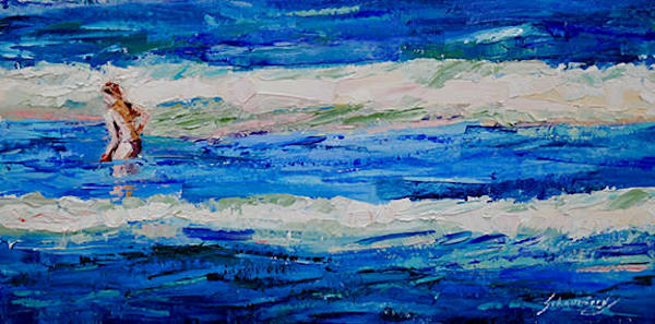 One With The Sea Art | Debra Schaumberg | ART