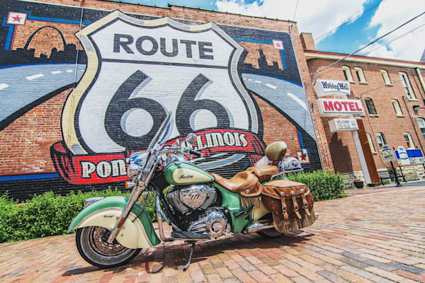 Historic Route 66 Indian Chief Vintage