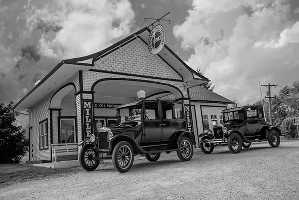 Odell Route 66 Standard Oil Gas Station