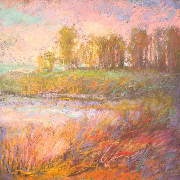 Pastel Landscape Painting Limited Edition by Dorothy Fagan