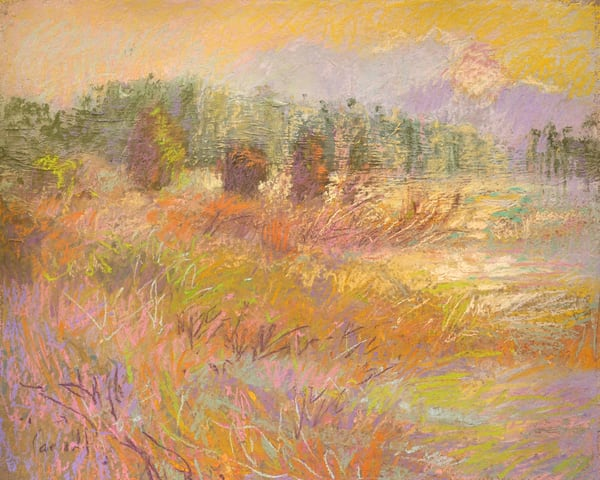Sunrise Marsh Painting Limited Edition by Dorothy Fagan