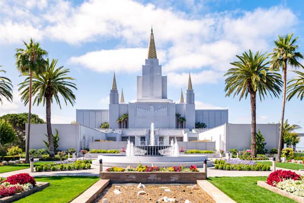Oakland California Temple - Glorious Day