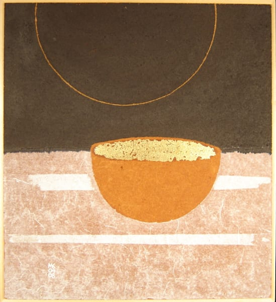 bowl with eclipse