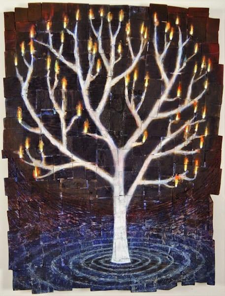 water tree fire