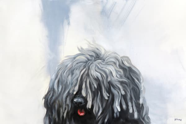 Another Shaggy Dog Story Art | Van Isle Dog Art