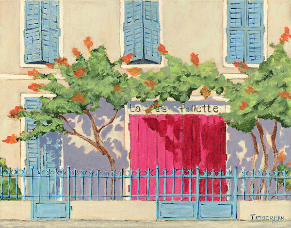 """Bandol France"" fine art print by Barb Timmerman."