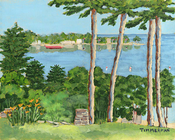 """The Point"" fine art print by Barb Timmerman."