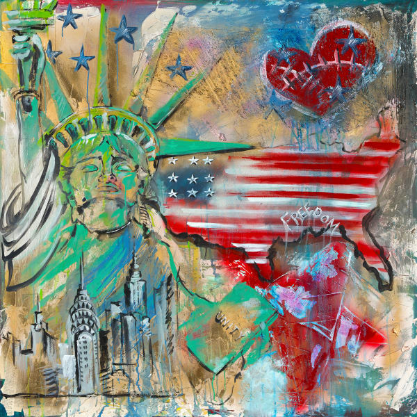 Unity and Freedom | Places | JD Shultz Art