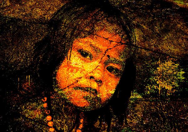 Amazonian Girl Photography Art   Roberto Vámos Photography