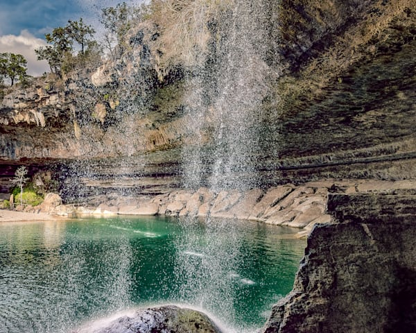 Hamilton Pool Falls, Travis County Texas Photography Art | Beth Sheridan, Grace Fine Art Photography