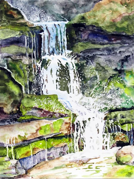 Hoxie Gorge Falls Art | David Beale