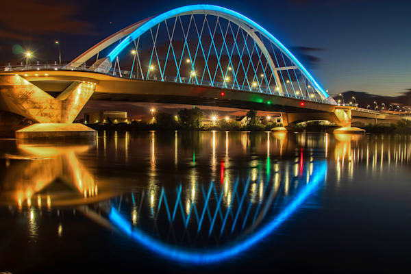 Lowry Bridge at Dusk - MPLS Images | William Drew Photography
