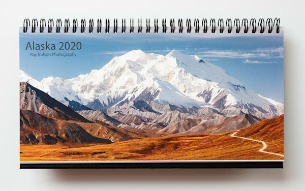2020 calendar of Alaska photographs