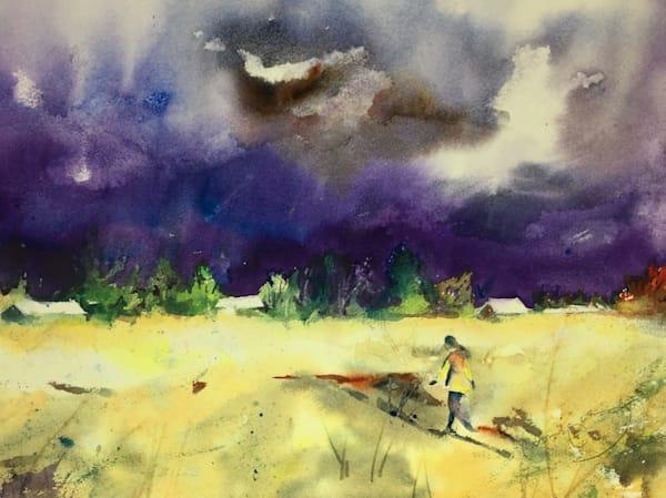 Purple Storm Gathering Art | Patrick Dominguez Art