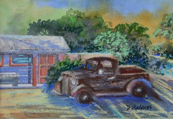 Duquesne Truck Mixed Media Original Diana Madaras
