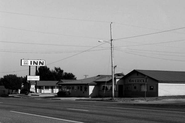 Route 66 Inn Photography Art | Peter Welch