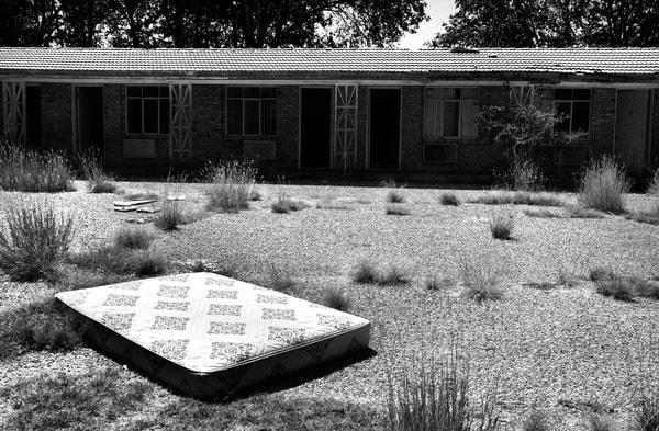 Abandoned Roadside Motel Photography Art | Peter Welch