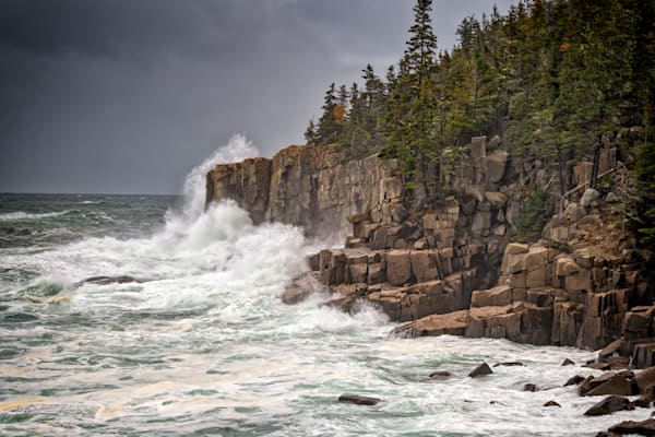 Nor'easter at Otter Cliff | Shop Photography by Rick Berk