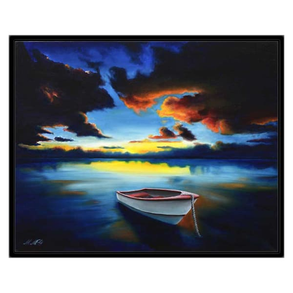 Stunning Sunset | Original Oil Painting Art | MMG Art Studio | Fine Art Colorado Gallery
