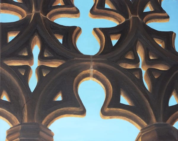 Cloisters Details | Original Oil Painting Art | MMG Art Studio | Fine Art Colorado Gallery