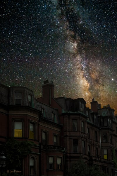 Boston Milky Way Photography Art | Art in Nature