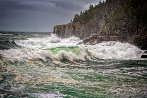 October Storm in Acadia | Shop Photography by Rick Berk
