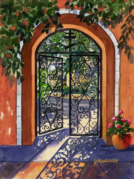 Southwest Gate Scene by Diana Madaras