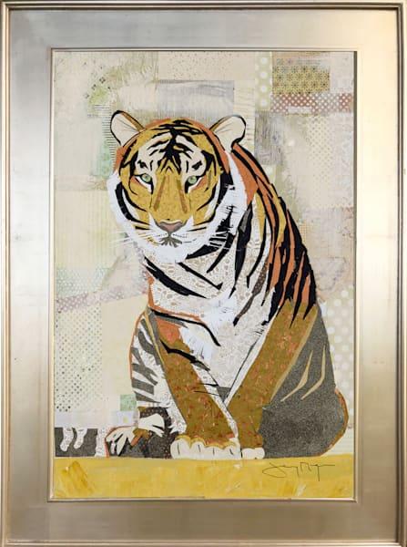 Tiger Perseverance Original Art | Jenny McGee Art
