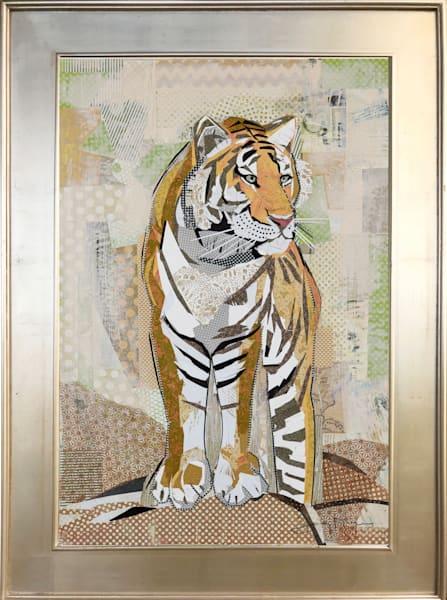Tiger Strength Original Art | Jenny McGee Art