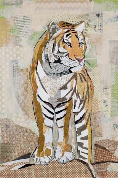 Tiger Strength Print