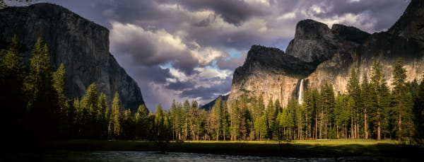 Fine Art Print | Gates of The Valley Yosemite Panorama