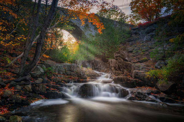 Autumn at Duck Brook Bridge | Shop Photography by Rick Berk