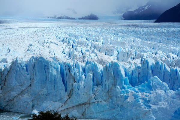 Perito Moreno Glacier, Argentina. One of the few glaciers in the world not shrinking. 2019.