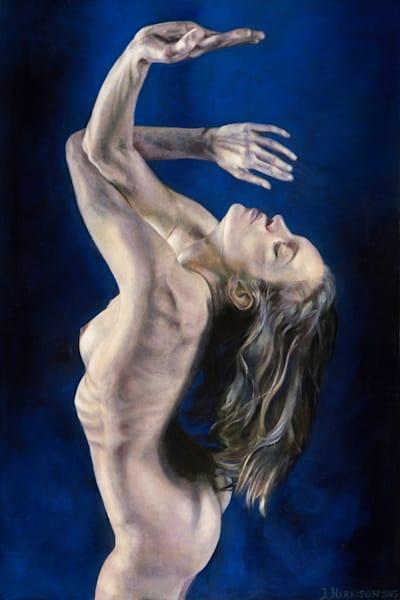 Invocation (Original Oil Painting On Wood Panel) Art | Jeffrey Harrison Multi-Media Artist