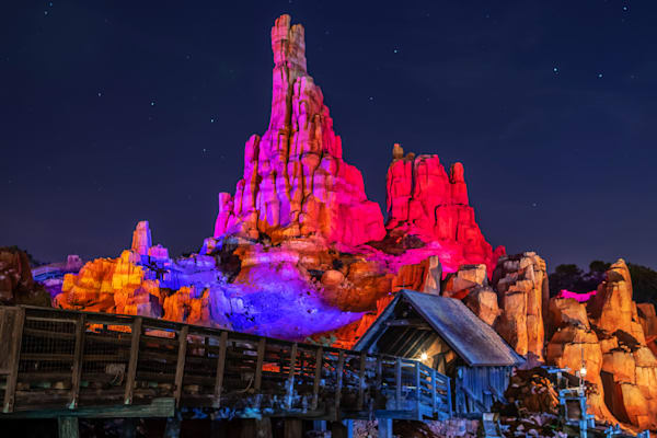 Big Thunder Mountain Halloween - Disney Halloween | William Drew