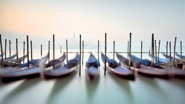 Gondolas Photography Art | DE LA Gallery
