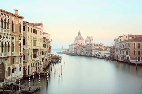 The Grand Canal Photography Art | DE LA Gallery