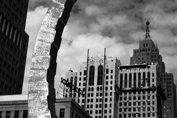 Downtown Detroit Photography Art | Peter Welch