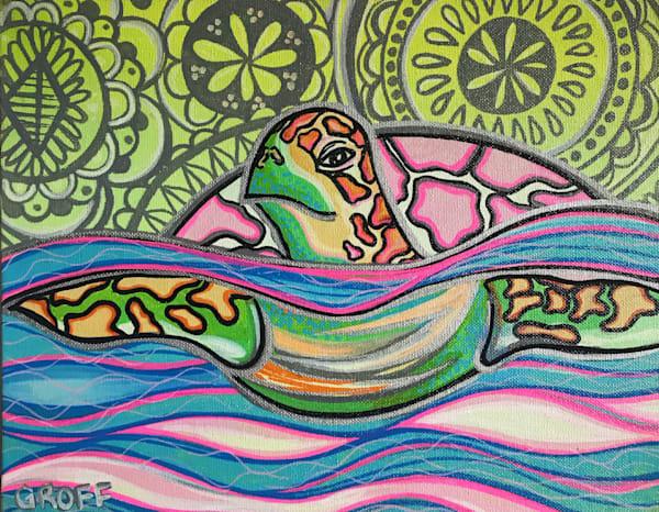 Tribal Turtle Art | evoartmaui