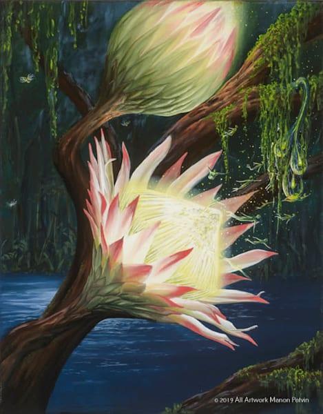 Lahaina Art Gallery features imaginative Artist Manon Potvin