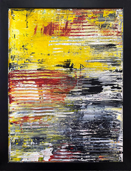 Tread Lightly abstract PMS painting