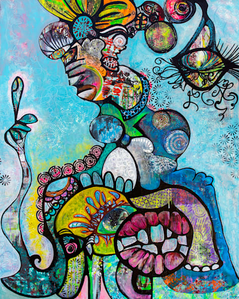The Thinking Woman Art | Becka Watkins Art