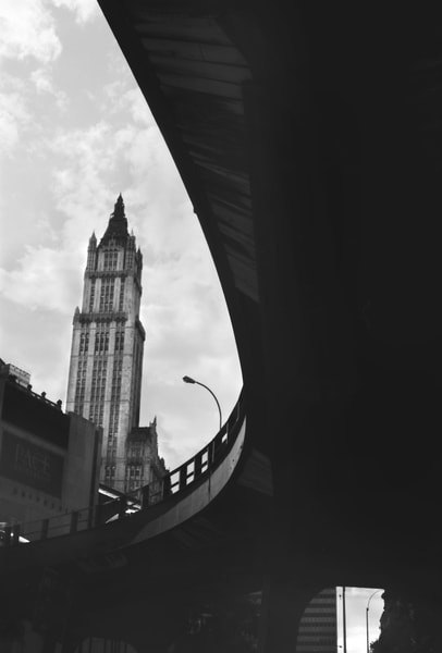 Woolworth Building & On Ramp Photography Art | Peter Welch