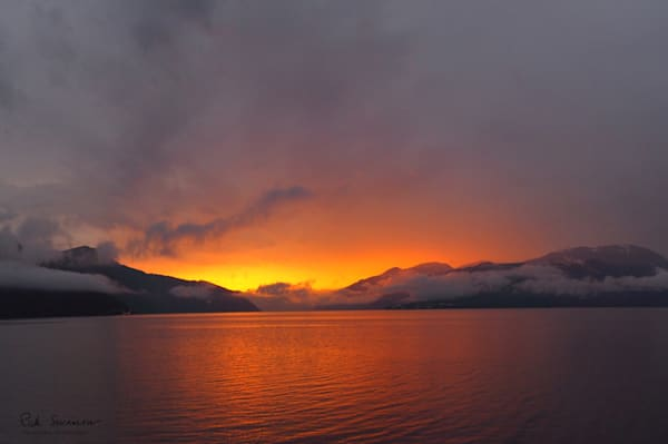 Sunrise Over Balestrand