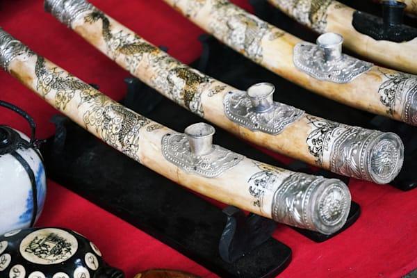 Opium Pipes Laos