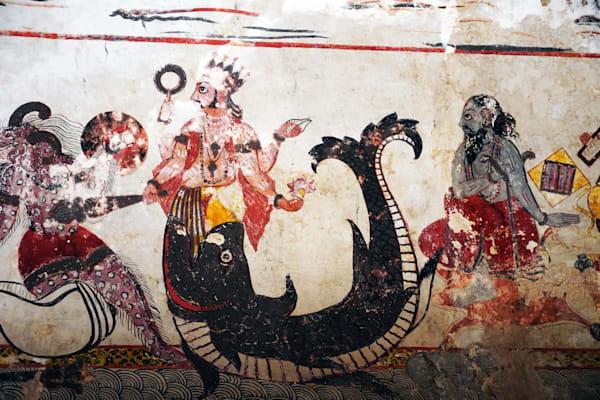 Mural Orchha India