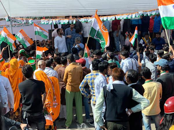 Political Rally Jaipur India